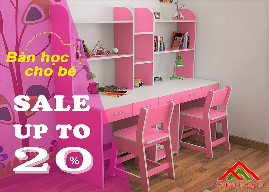 Bàn học cho bé sale up to 20%