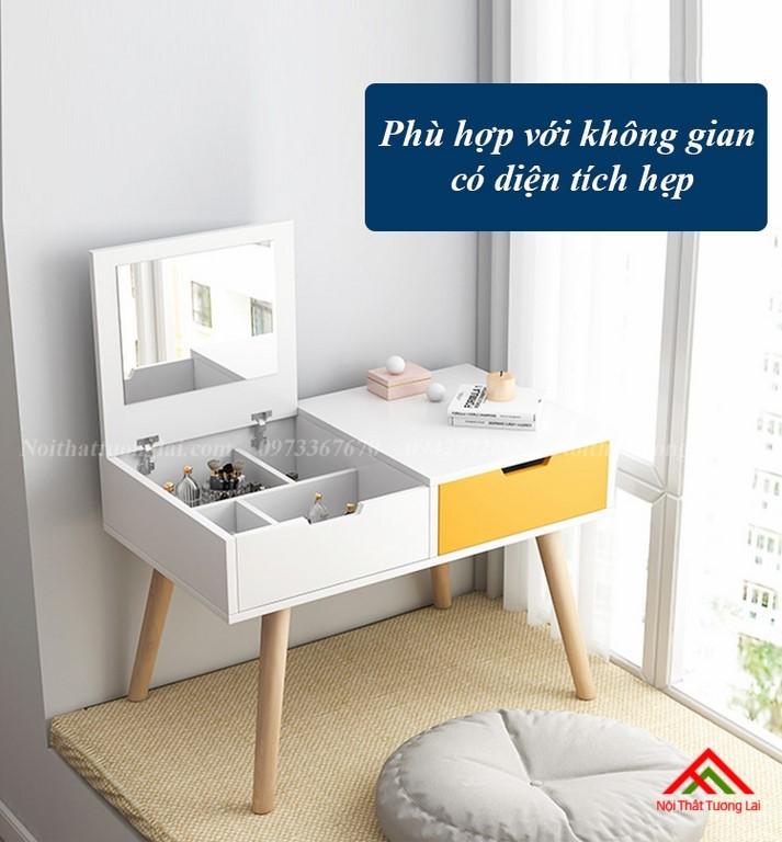 Bàn trang điểm gỗ thiết kế tinh tế BP6806 10