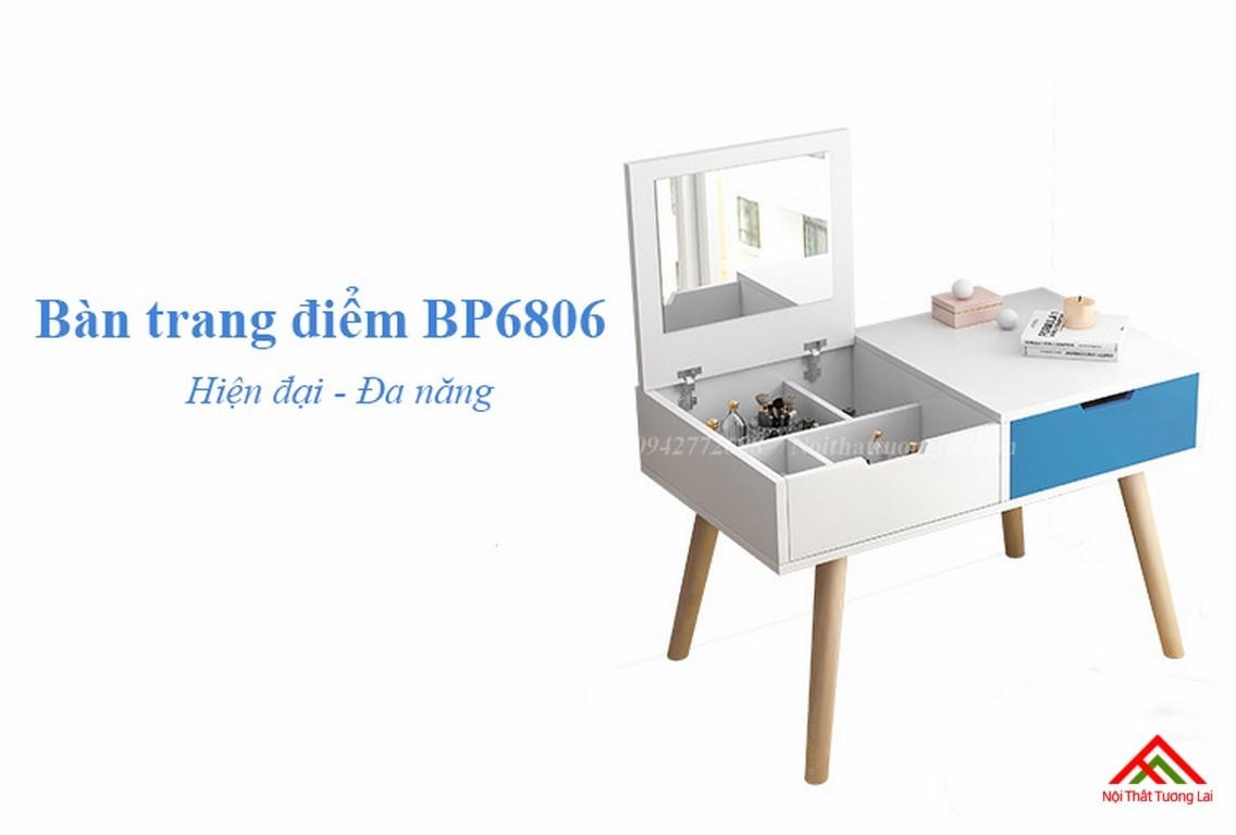 Bàn trang điểm gỗ thiết kế tinh tế BP6806 1