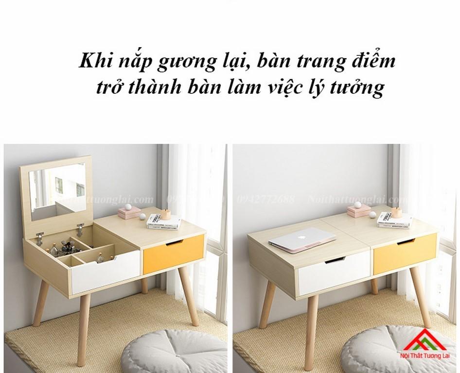 Bàn trang điểm gỗ thiết kế tinh tế BP6806 5