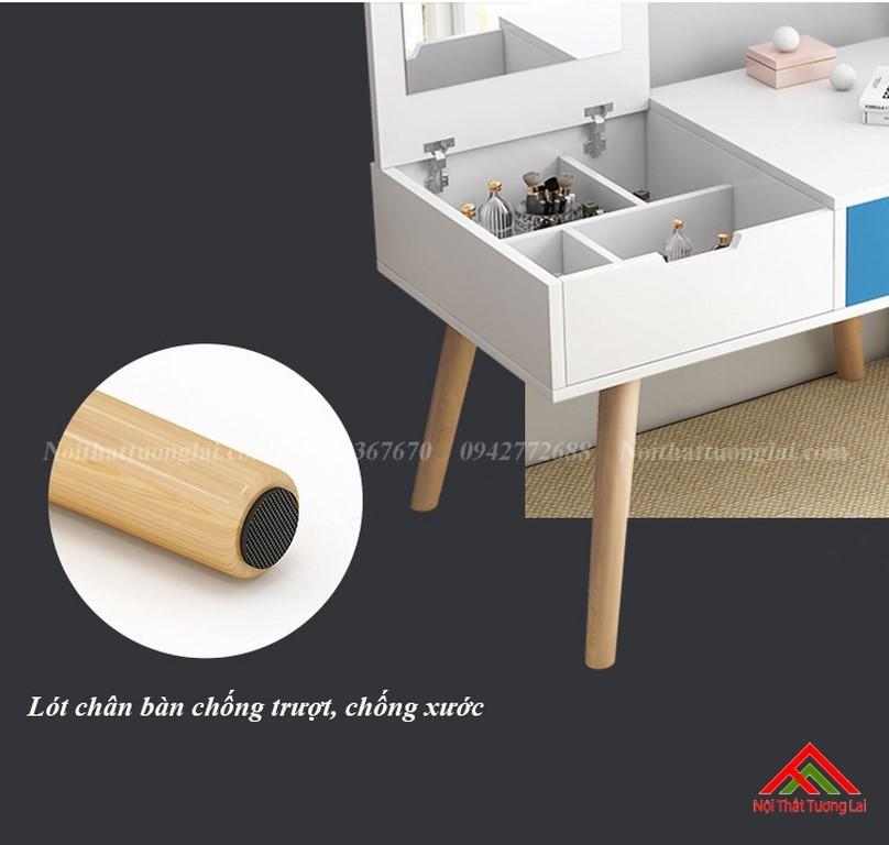 Bàn trang điểm gỗ thiết kế tinh tế BP6806 8
