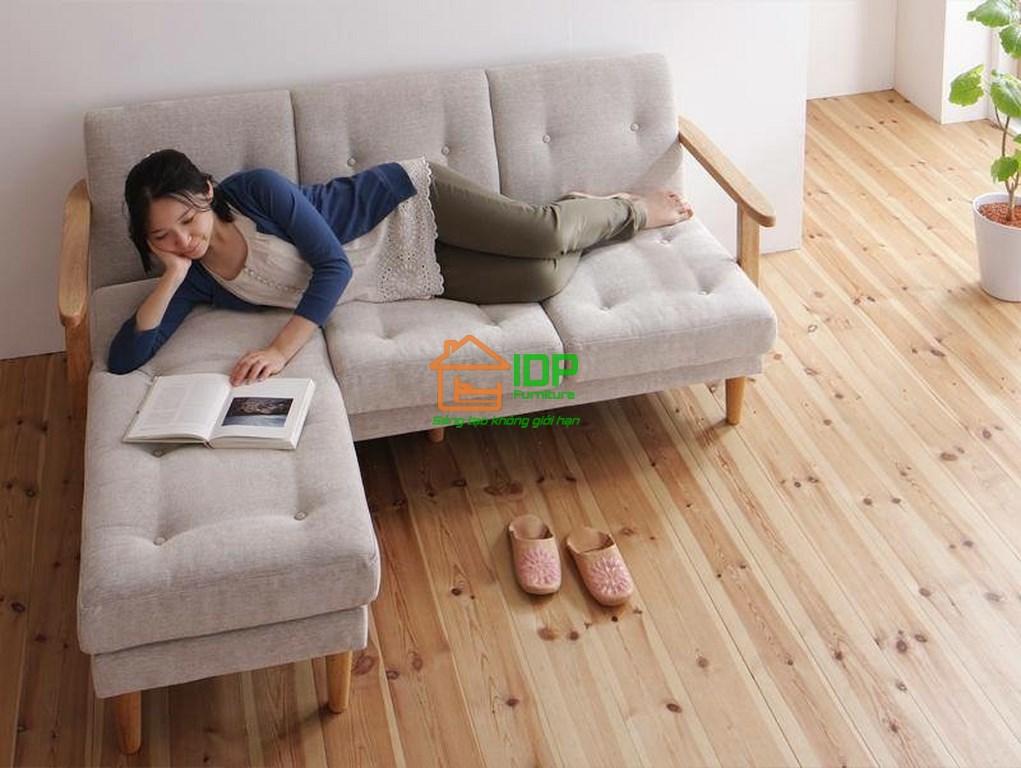 Bộ sofa vải đa năng đẹp