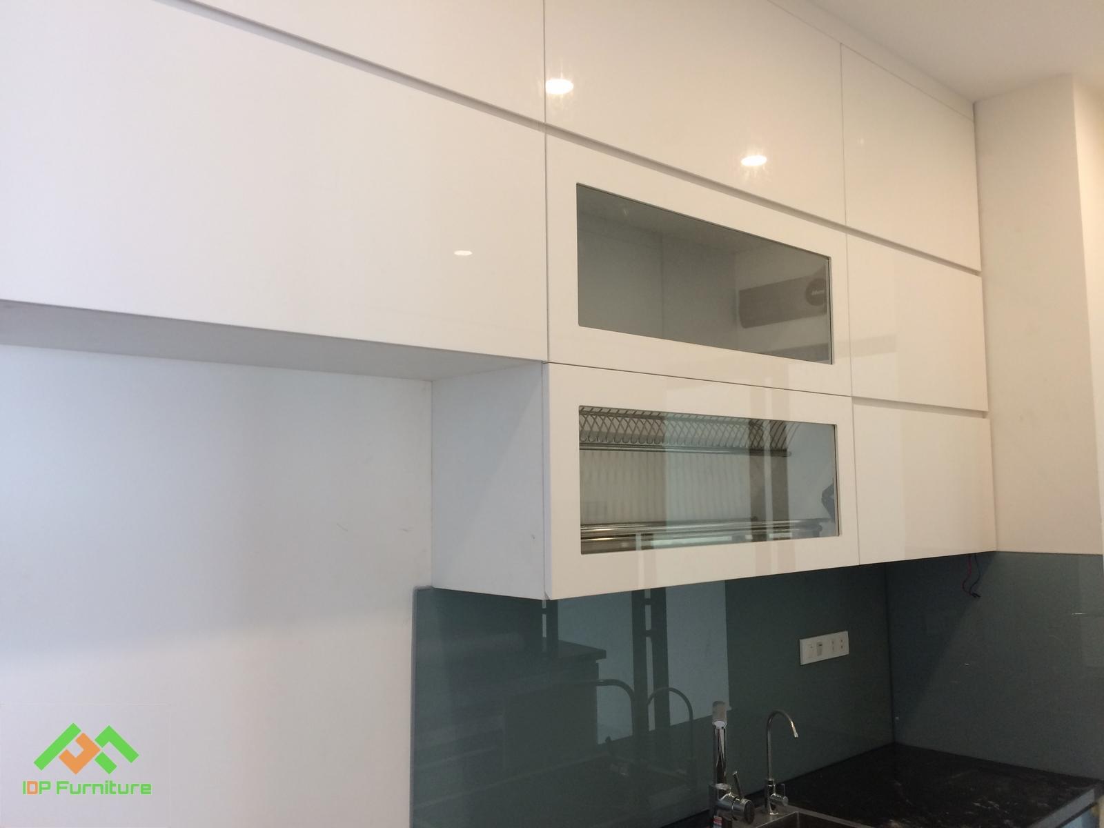 Tủ bếp Acrylic TB6818