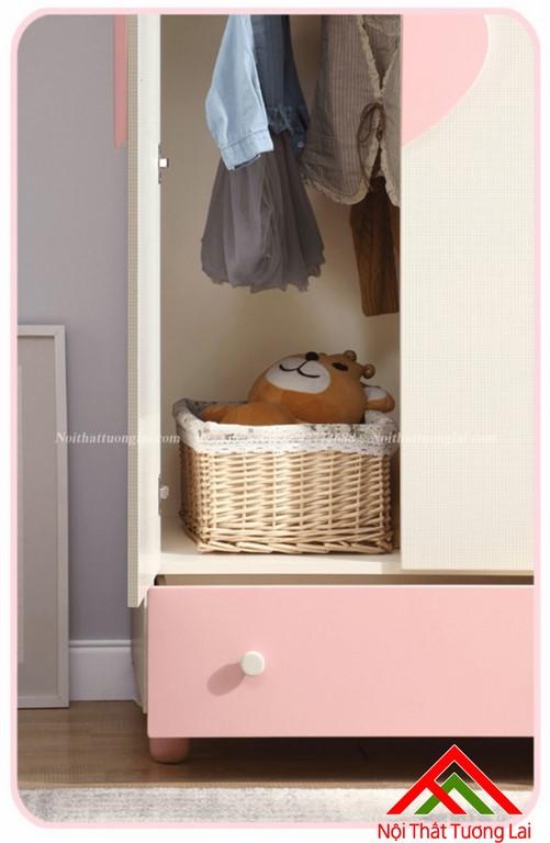 Tủ quấn áo cho bé gái GA6806 4