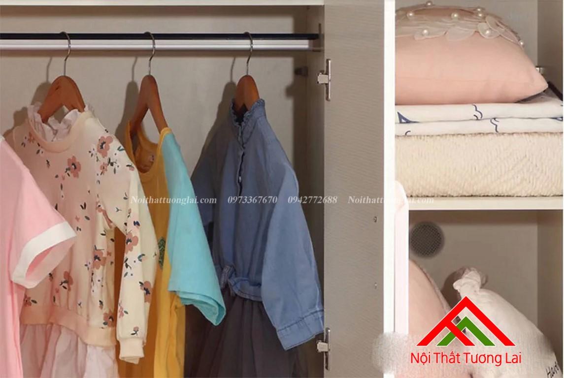 Tủ quấn áo cho bé gái GA6806 5