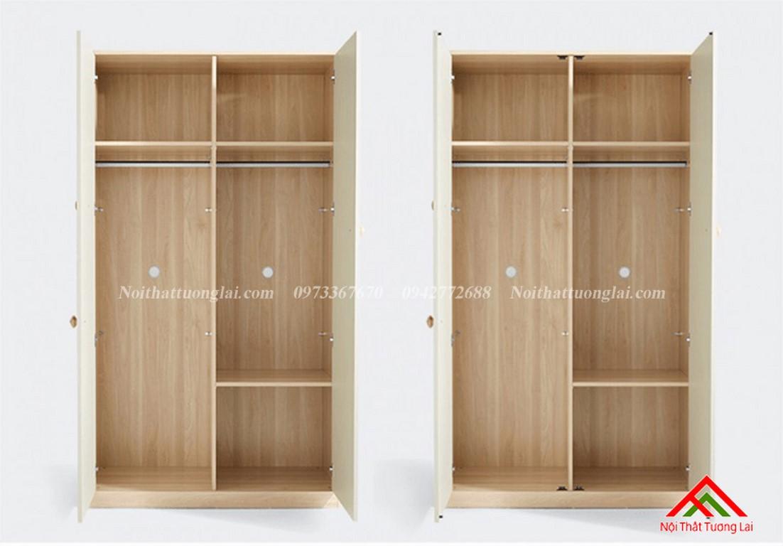 Tủ quần áo trẻ em QA6807 4