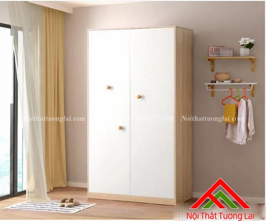 Tủ quần áo trẻ em bằng gỗ QA6807 8