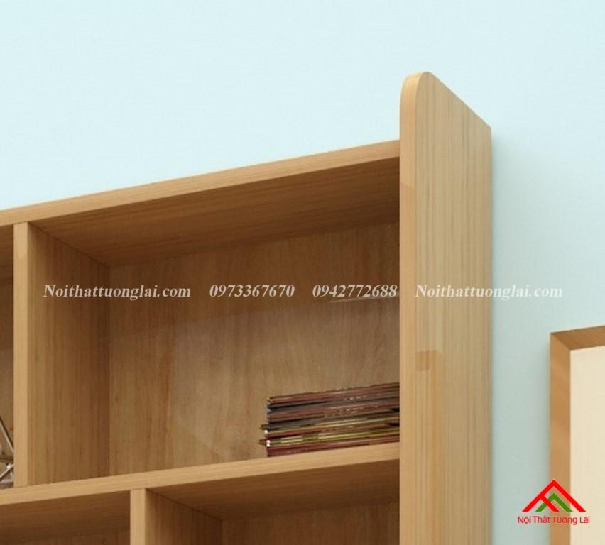 Bàn học sinh liền giá sách thiết kế hiện đại BH6821 8