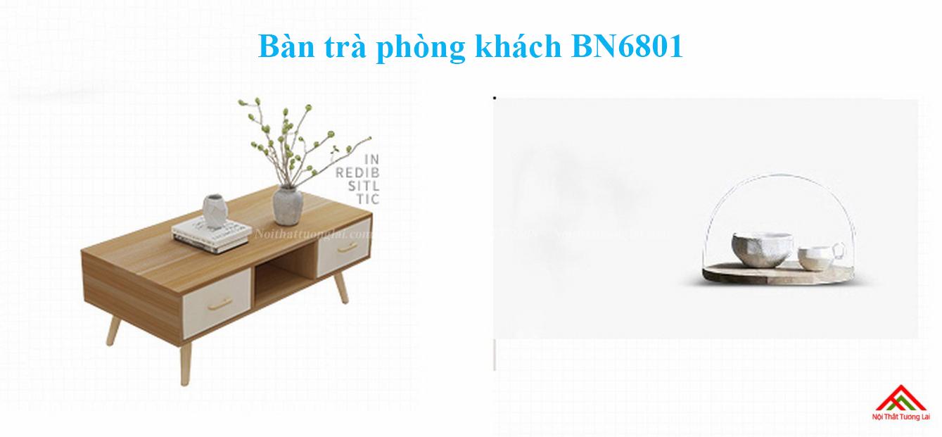 Bàn trà phòng khách dáng chân cao BN6801 1