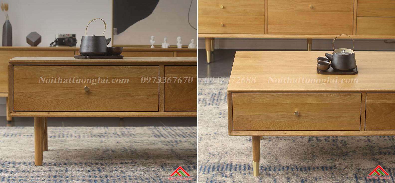 Bàn trà sofa kết cấu chắc chắn BN6809 8