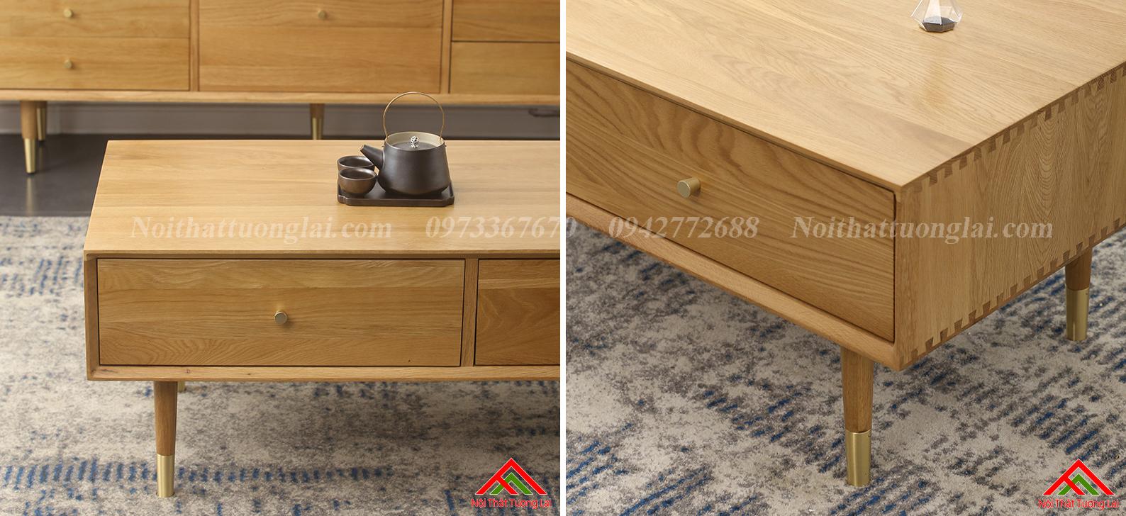Bàn trà sofa kết cấu chắc chắn BN6809 5