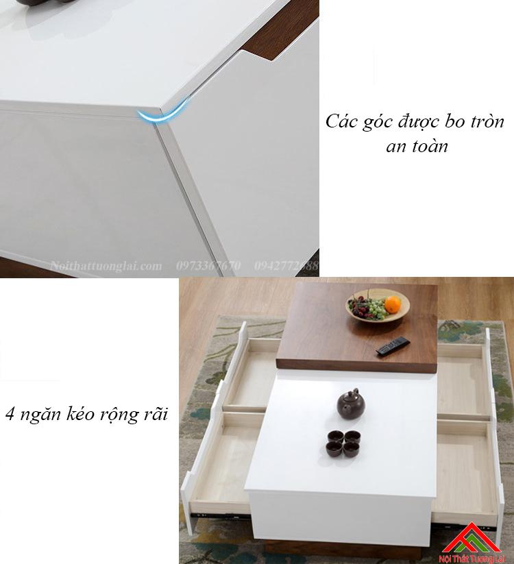 Bàn trà thiết kế thông minh BN6805 5