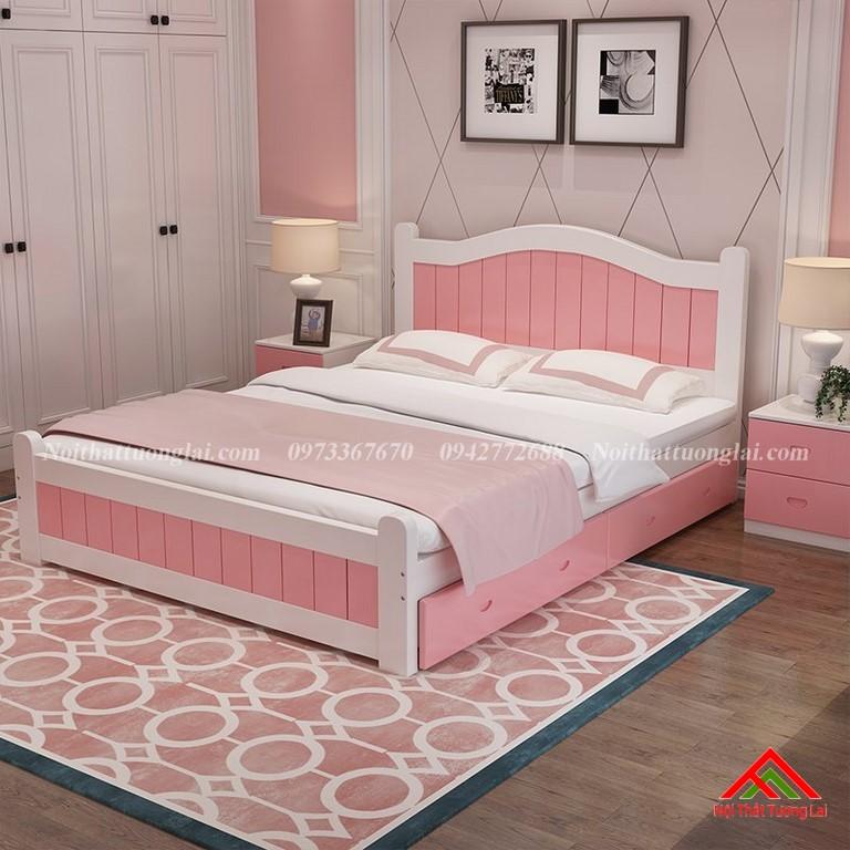 Giường ngủ trẻ em dành riêng cho bé gái GB6811