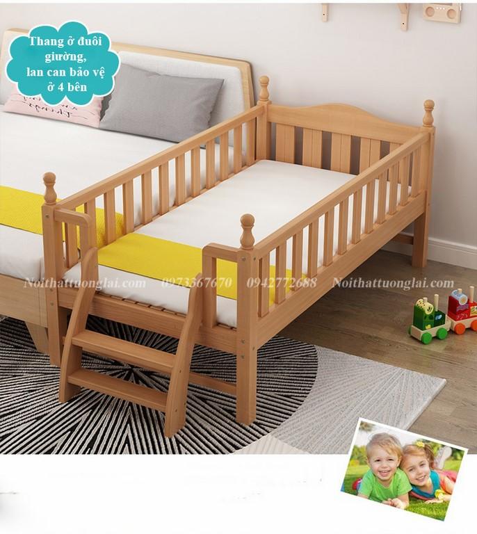 Giường cũi cho bé GB6812 tiện lợi 5