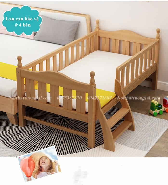 Giường cũi cho bé GB6812 tiện lợi 4