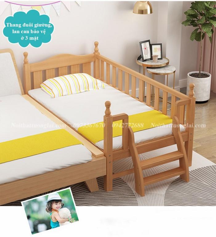 Giường cũi cho bé GB6812 tiện lợi 2