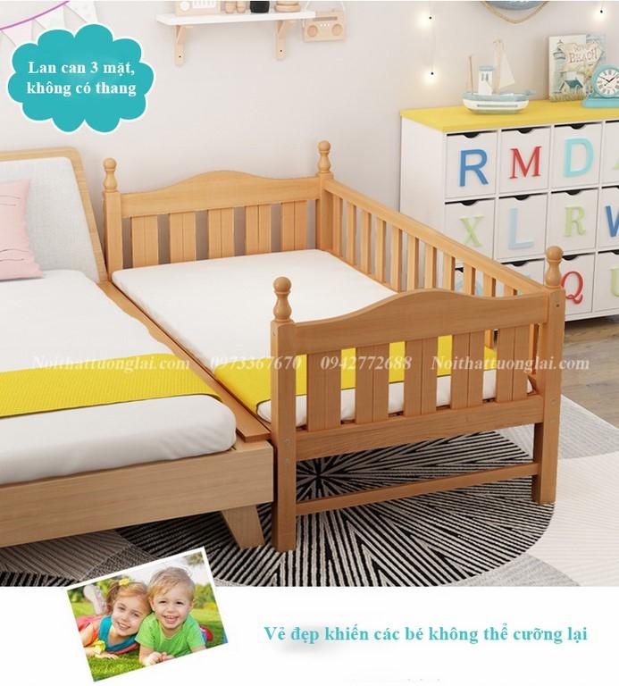 Giường cũi cho bé GB6812 tiện lợi 3