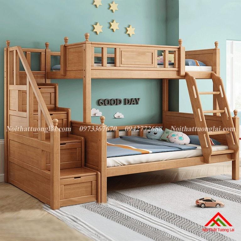 Giường hai tầng gỗ trẻ em GT6830 6