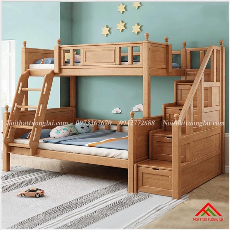 Giường hai tầng gỗ trẻ em GT6830 1
