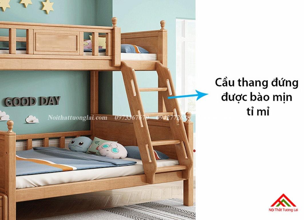 Giường hai tầng gỗ trẻ em GT6830 5