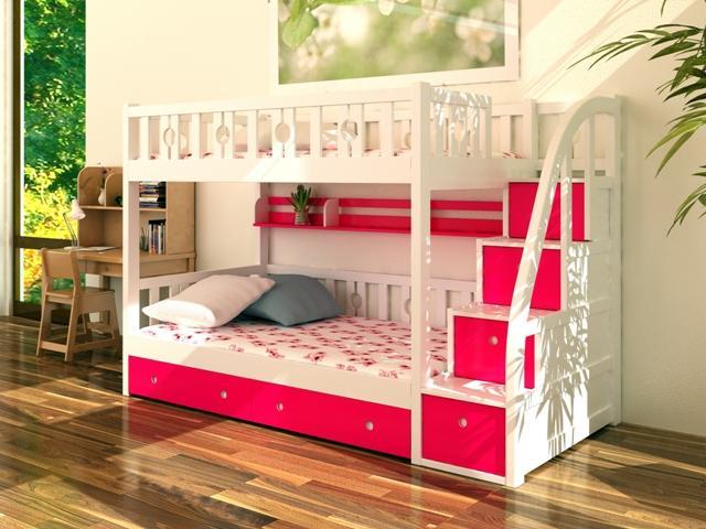 giường ngủ hai tầng trẻ em