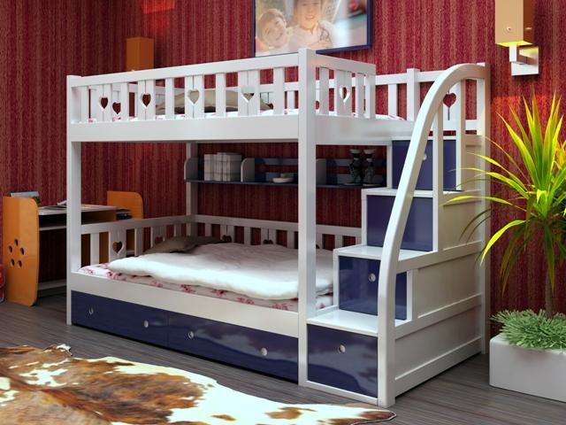 giường ngủ hai tầng cho bé