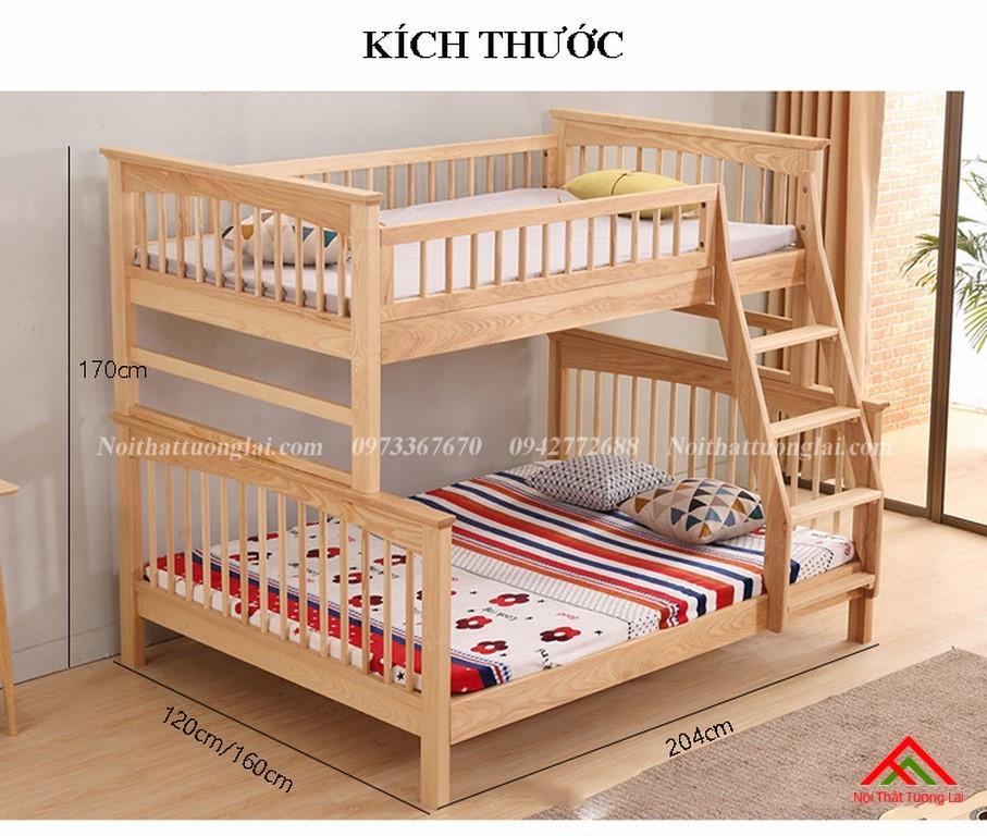 Giường ngủ 2 tầng trẻ em GT6822 2