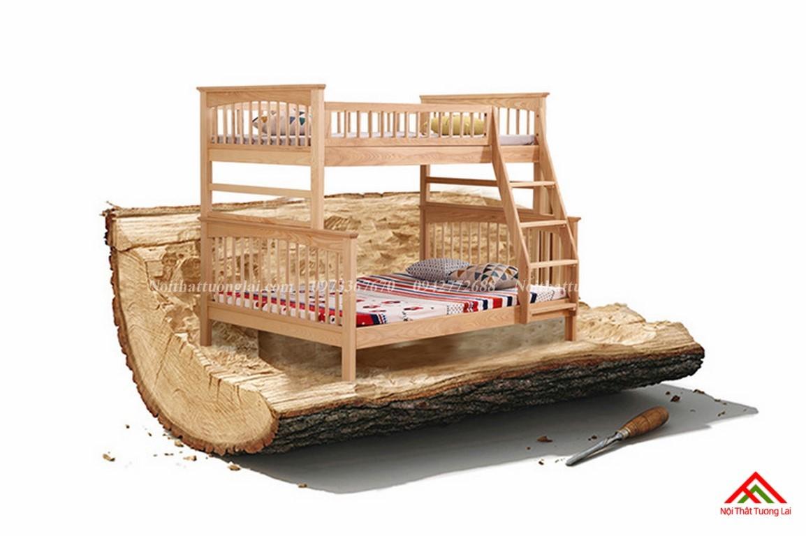 Giường ngủ 2 tầng trẻ em GT6822 1