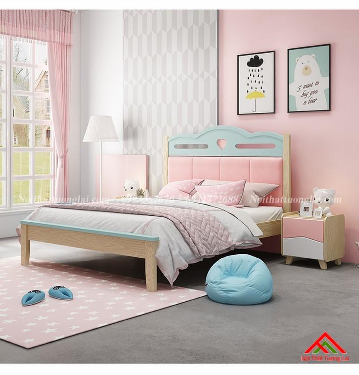 Giường ngủ cho bé gái GB6810 đẹp miễn chê 1