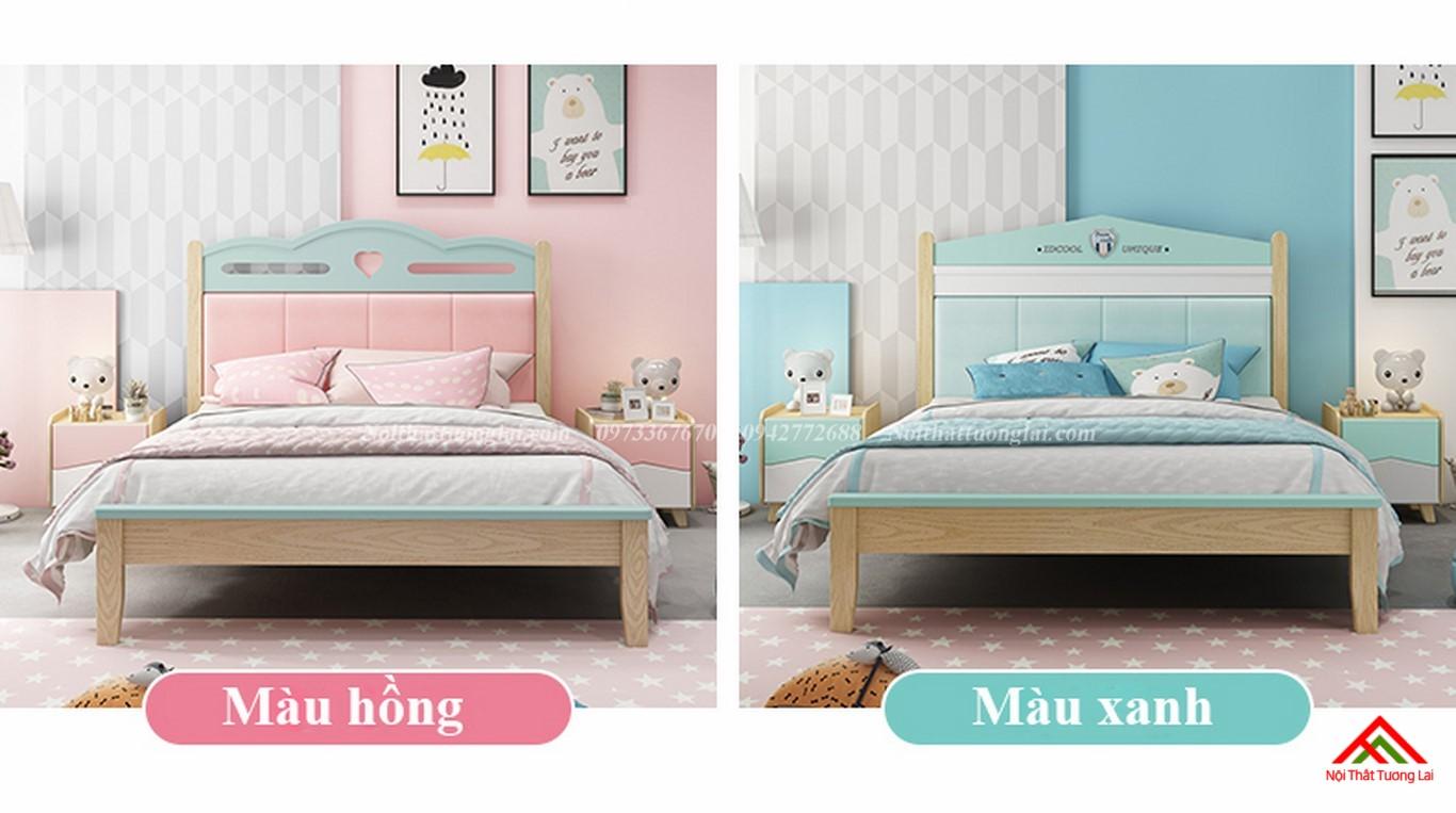 Giường ngủ cho bé gái GB6810 đẹp miễn chê 3