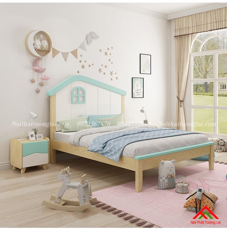 Giường ngủ cho bé trai GB6808 độc đáo 10