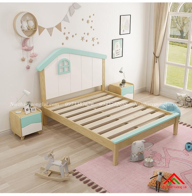 Giường ngủ cho bé trai GB6808 độc đáo 4