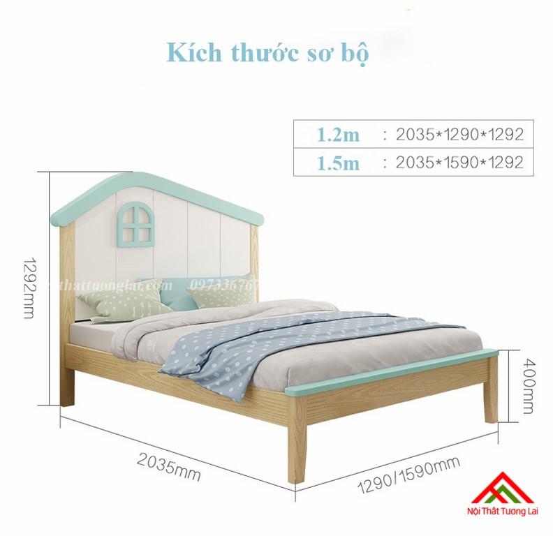 Giường ngủ cho bé trai GB6808 độc đáo 8