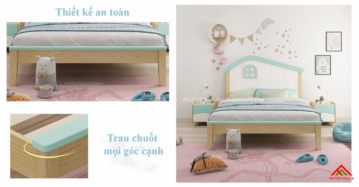 Giường ngủ cho bé trai GB6808 độc đáo 7