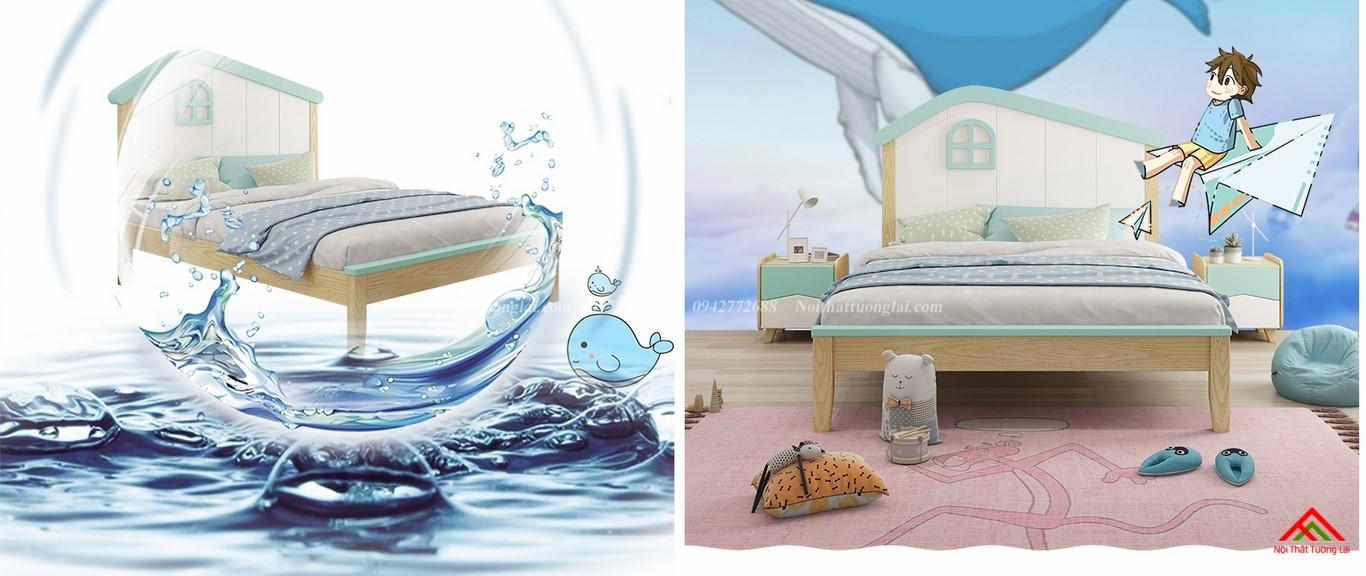 Giường ngủ cho bé trai GB6808 độc đáo 9