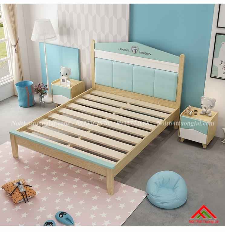 Giường ngủ cho bé trai GB6809 thiết kế an toàn 8