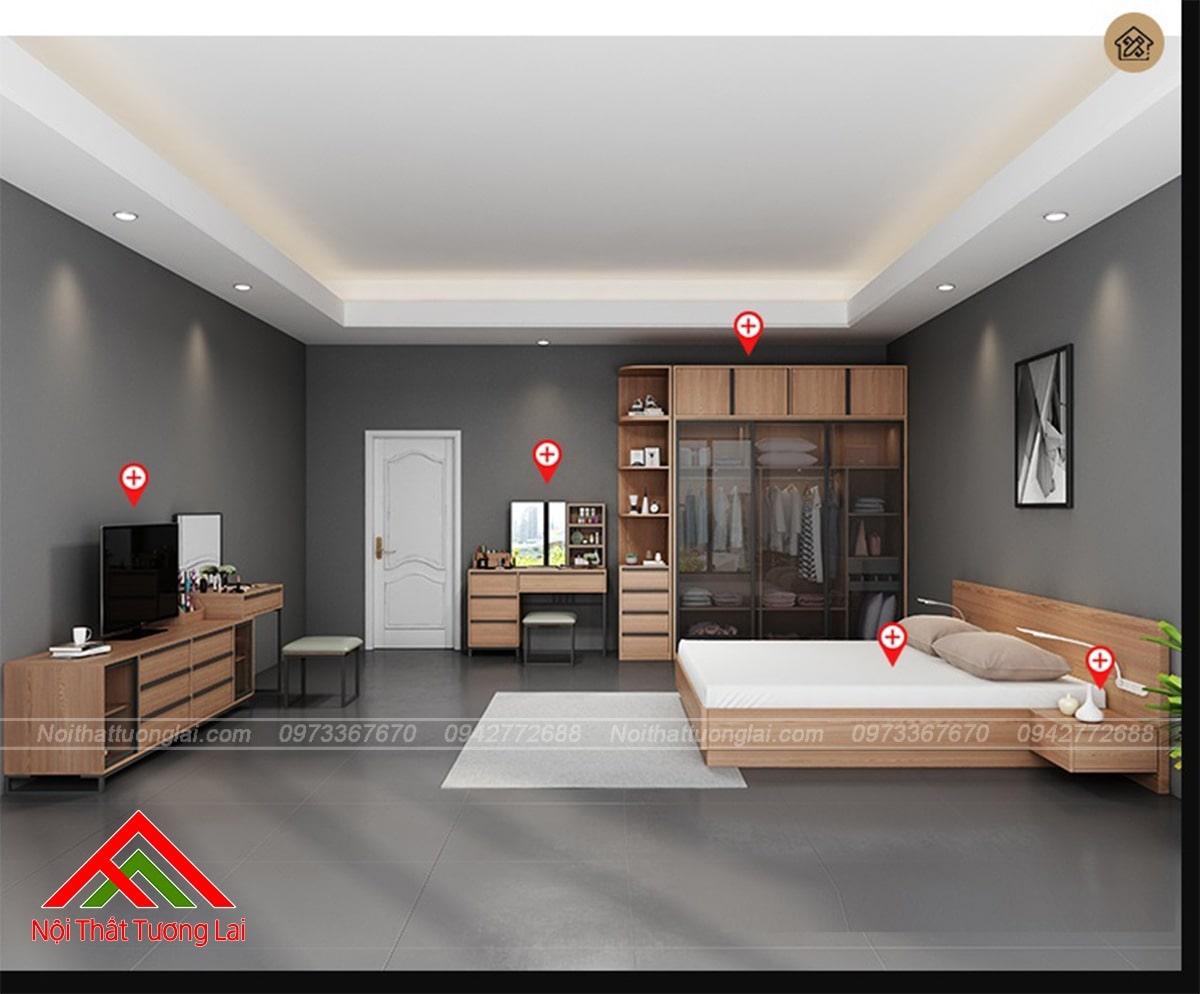 Top 10 mẫu giường gỗ công nghiệp thịnh hành nhất năm 2019