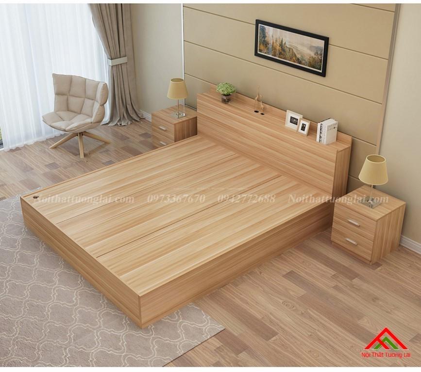 Giường ngủ đẹp hiện đại có ngăn chứa đồ GN8802 5