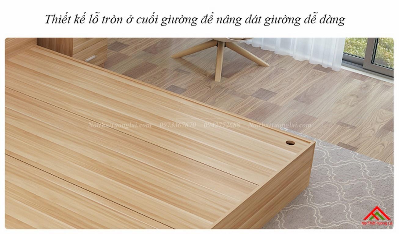 Giường ngủ đẹp hiện đại có ngăn chứa đồ GN8802 6