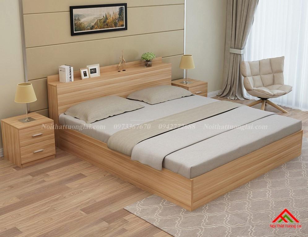 Giường ngủ đẹp hiện đại có ngăn chứa đồ GN8802 9