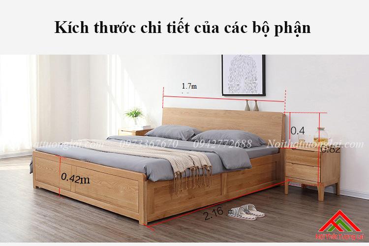 Kích thước giường ngủ theo thước Lỗ Ban