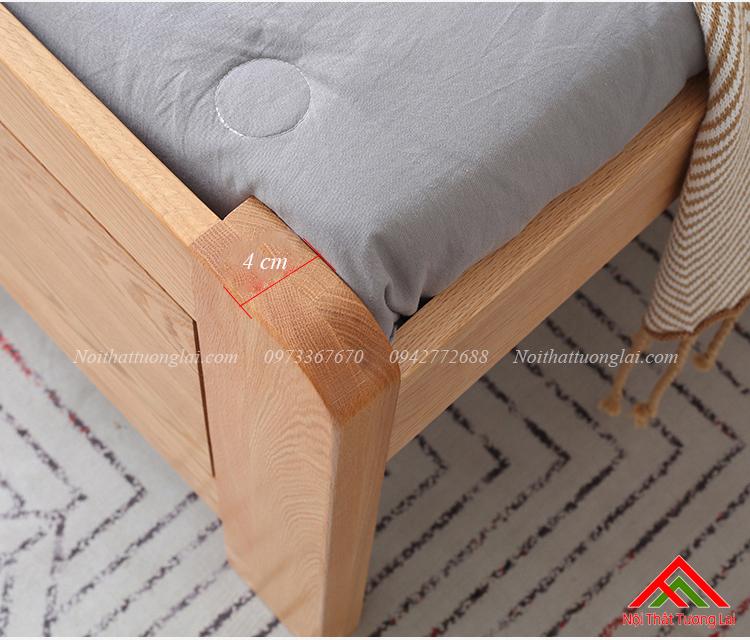 Giường ngủ gỗ sồi GN6811 7