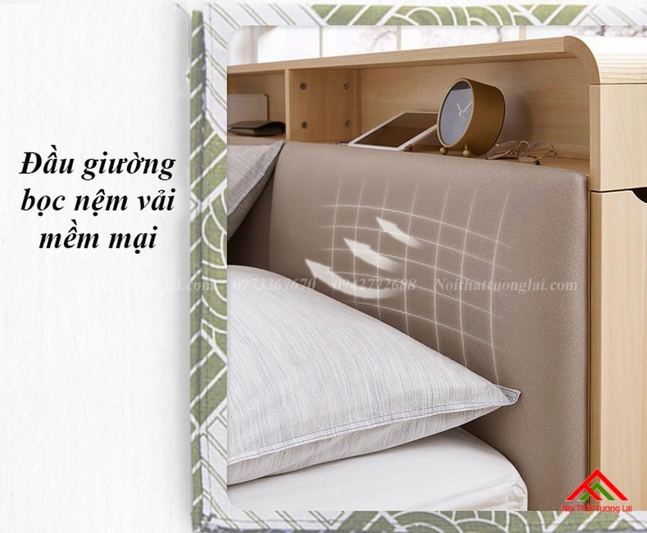 Giường ngủ hộp GN6822 với nhiều ngăn lưu trữ đồ đa dạng 4