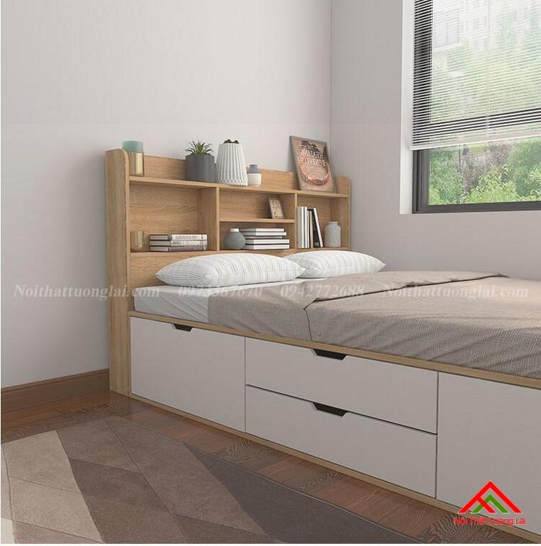 Giường ngủ hộp thông minh liền tủ quần áo GN6820 3