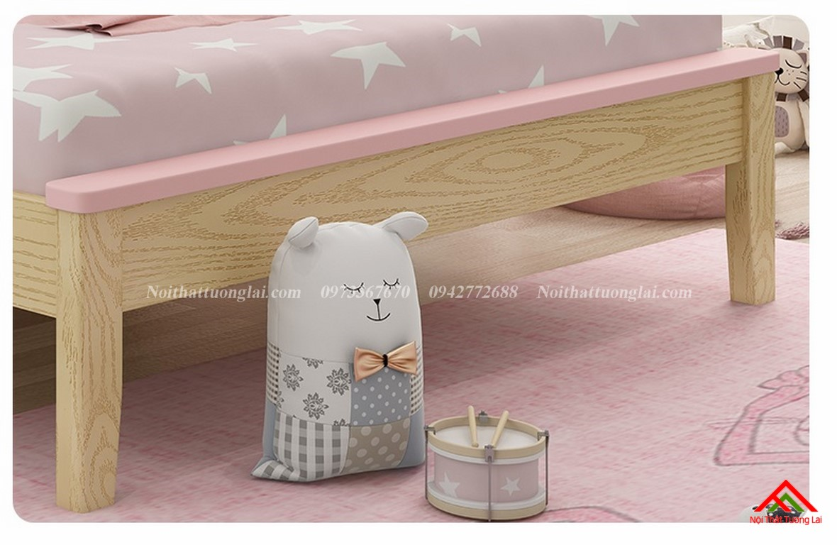 Giường ngủ trẻ em cho bé gái GB6806 7