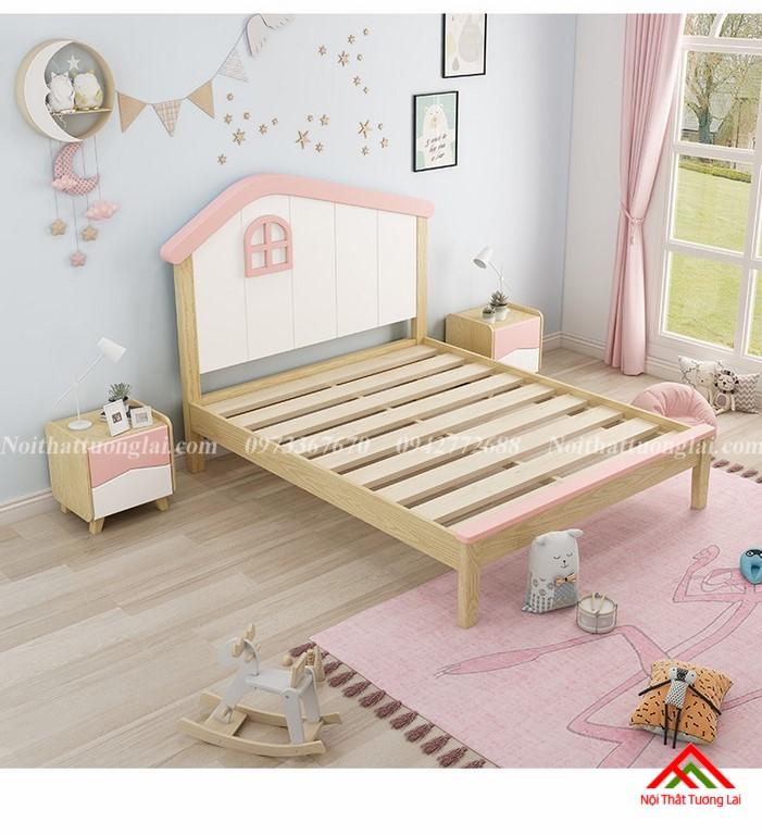 Giường ngủ trẻ em cho bé gái GB6806 5