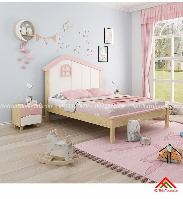 Giường ngủ trẻ em cho bé gái GB6806 11