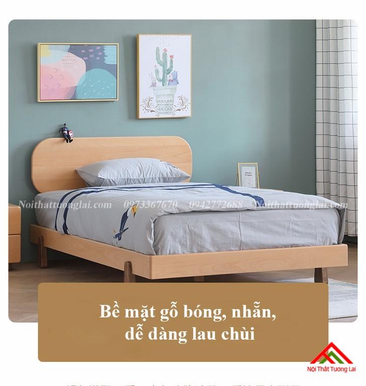 Giường ngủ trẻ em cho bé trai GB6807 8