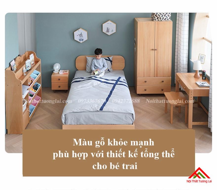 Giường ngủ trẻ em cho bé trai GB6807 3