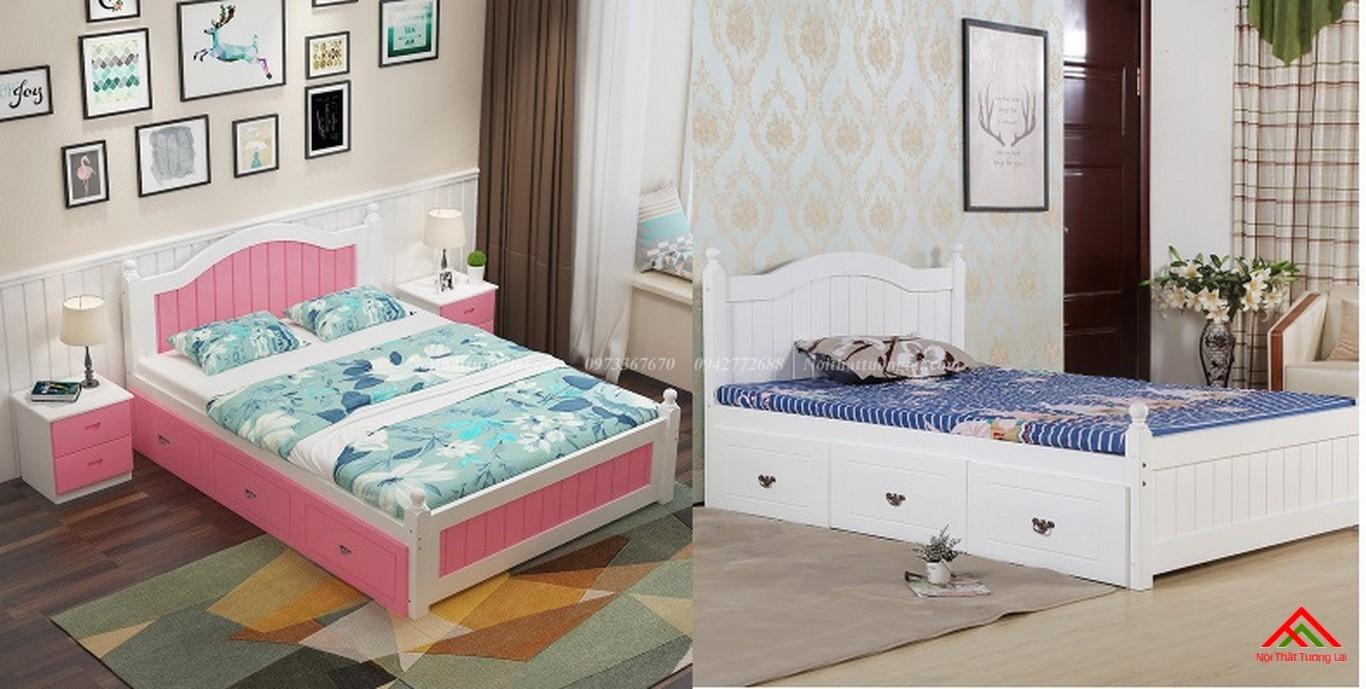 Giường ngủ trẻ em GB6803 hiện đại 1